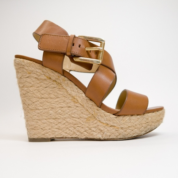 f1ba902568a MICHAEL Michael Kors - Giovanna Leather Espadrille
